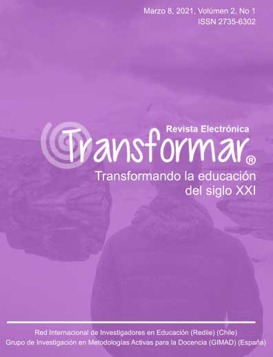 Ver Vol. 2 Núm. 1 (2021): Revista Transformar Marzo 2021